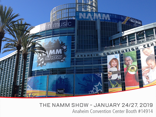 Experience MUTEC at NAMM 2019